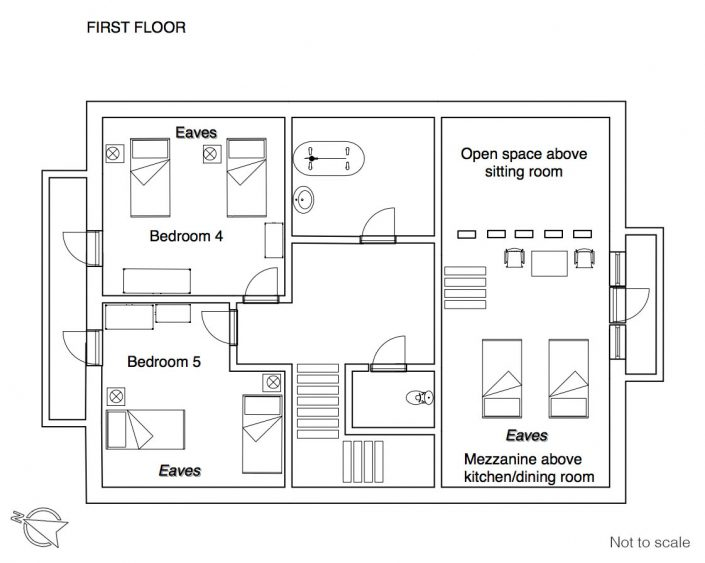 YSE Les Gnellets floor plan 1
