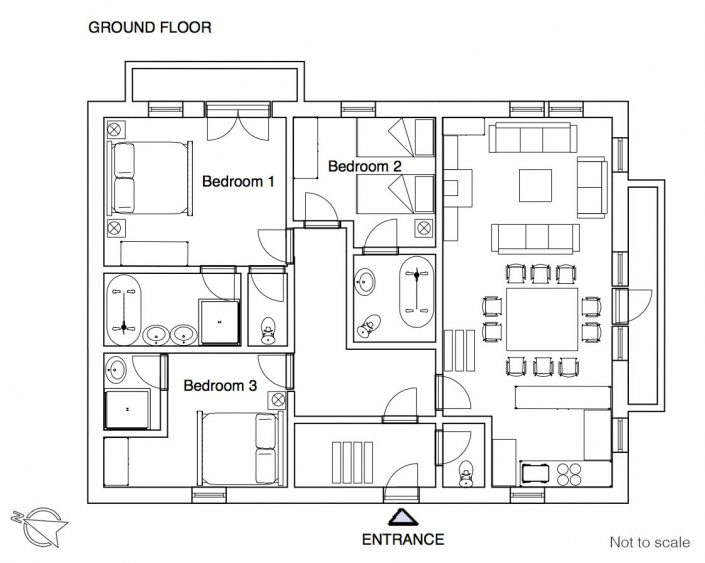 YSE Les Gnellets floor plan 2