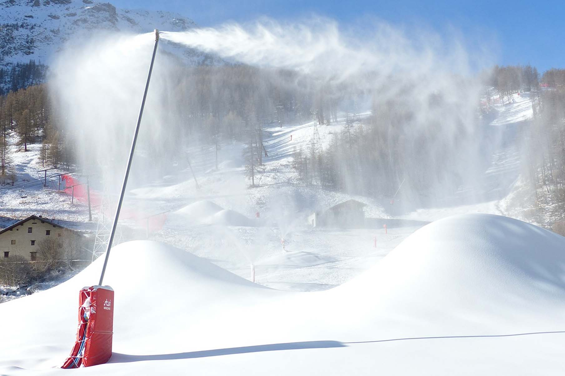 Val d'Isere snow