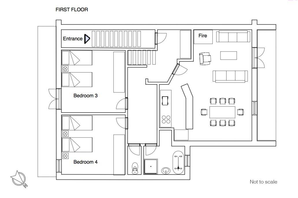 Charlotte floor plan 1