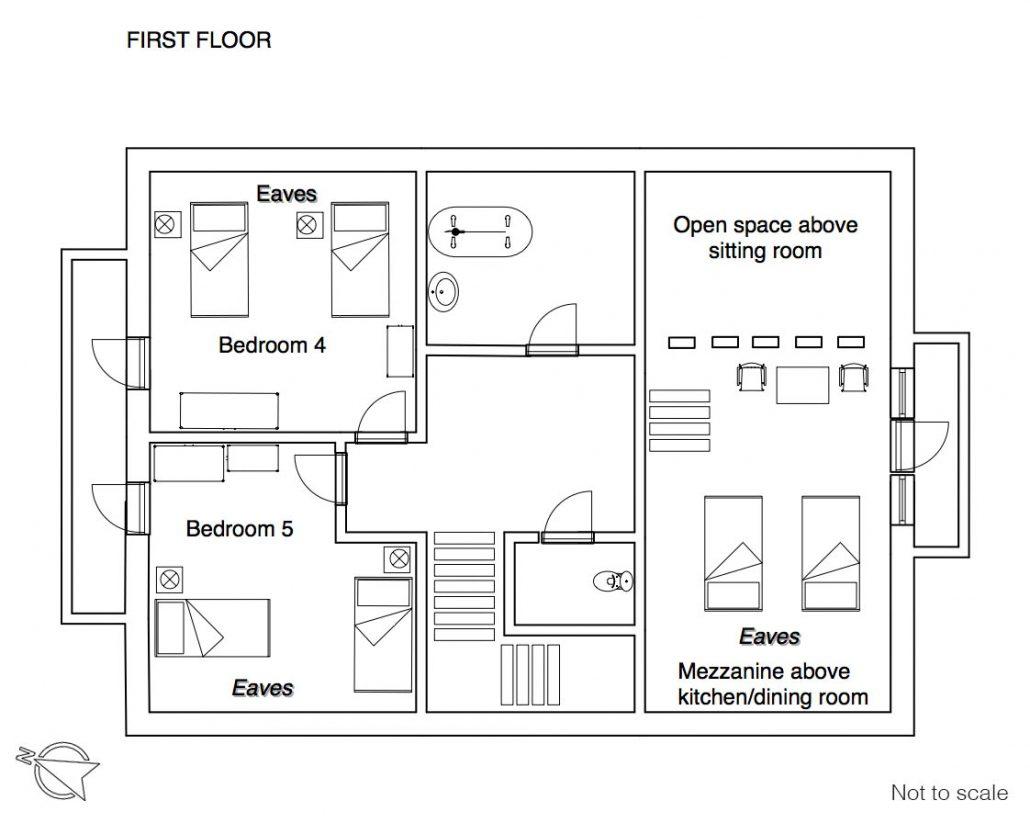 YSE Les Gnellets floor plan 1