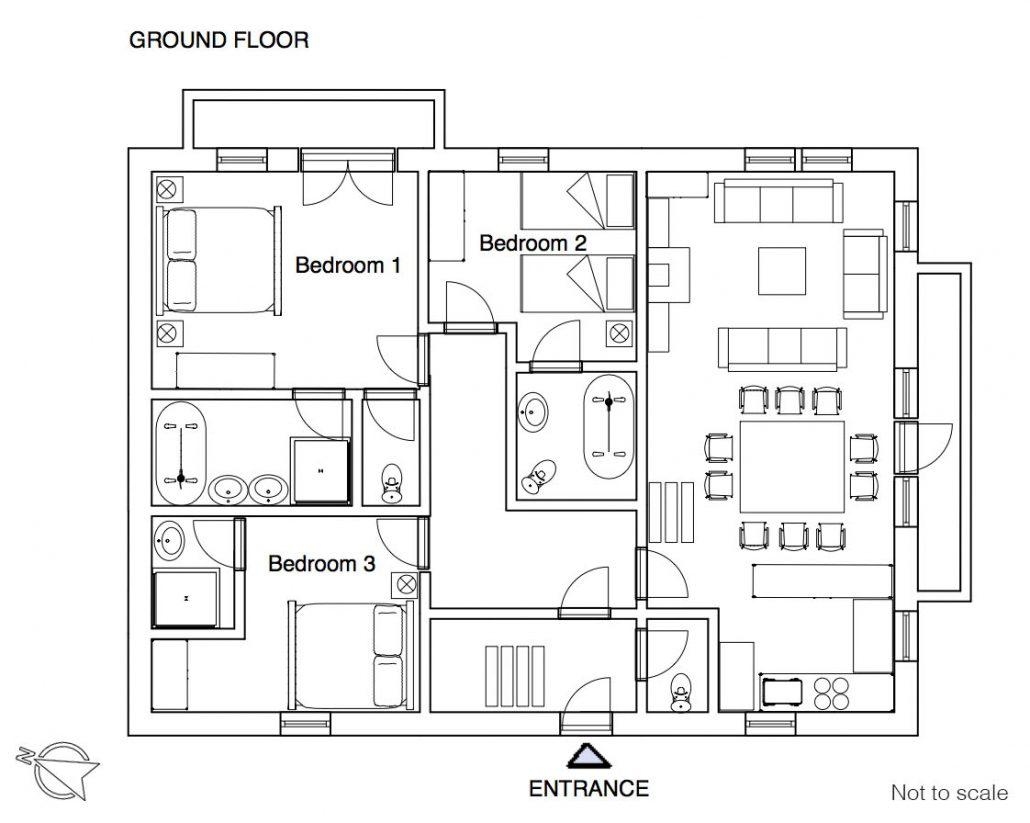 YSE Les Gnellets floor plan 2