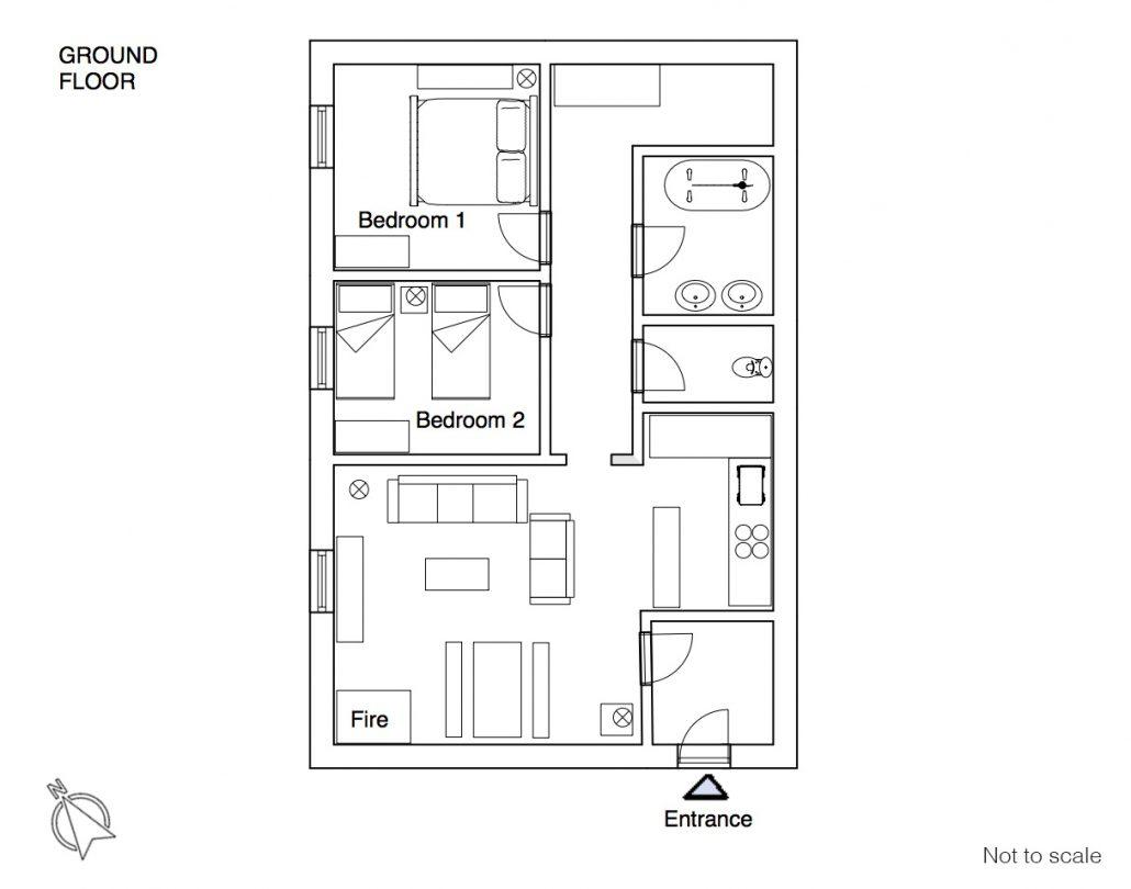 La Croix floor plan
