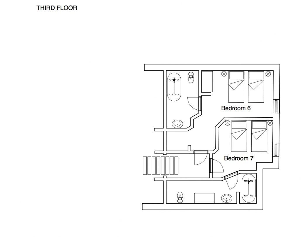 YSE Chalet des Neiges floor plan 3