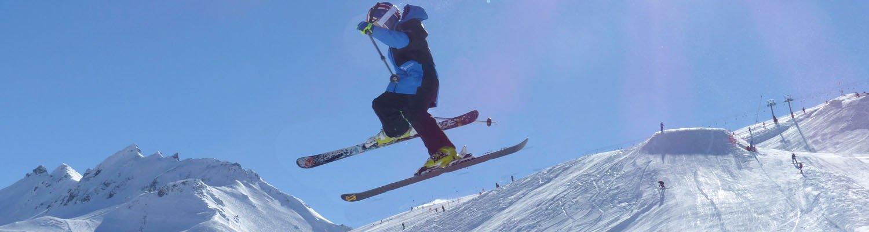 Val d'Isere snow park