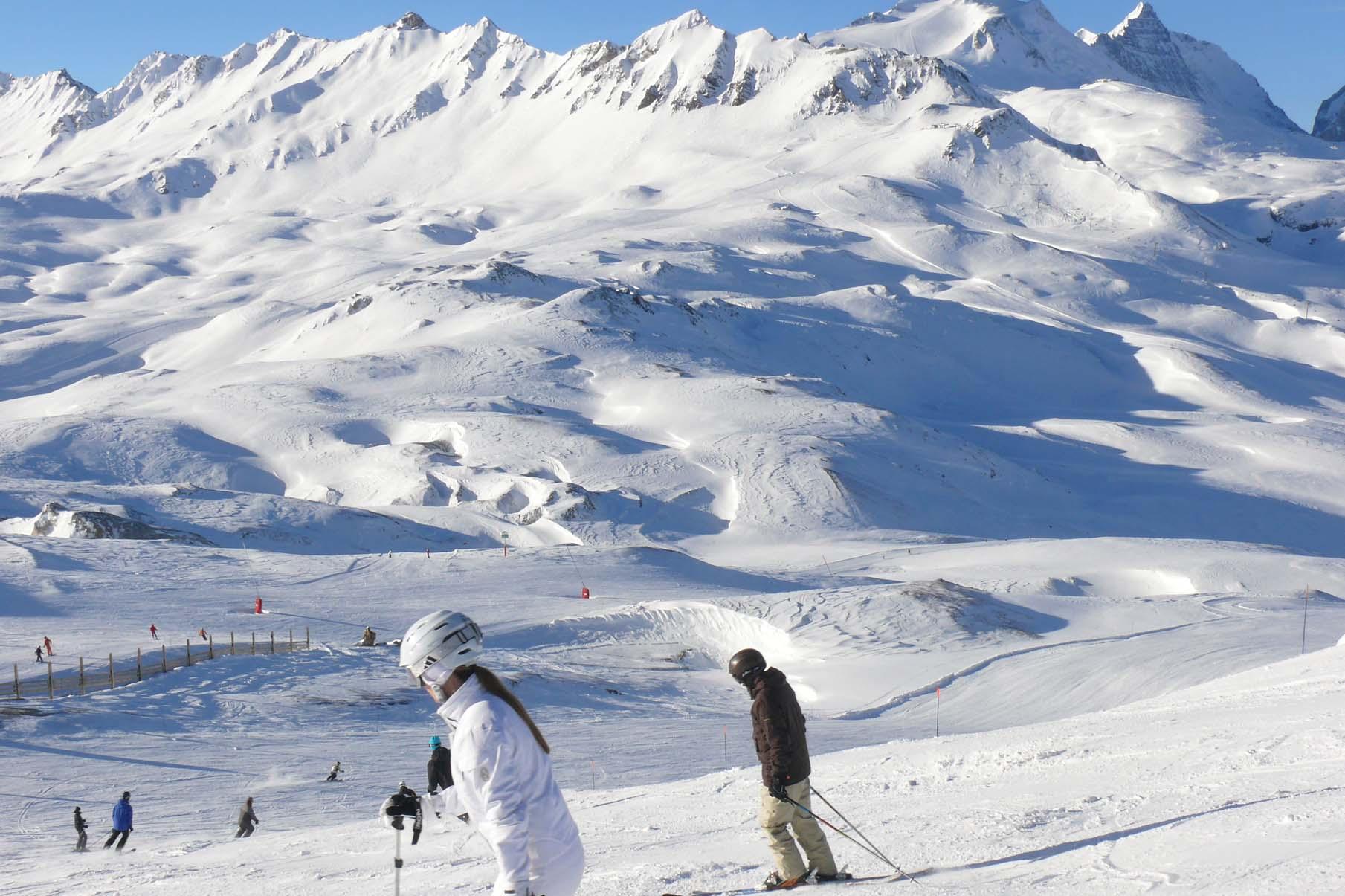 Val d'Isere slopes