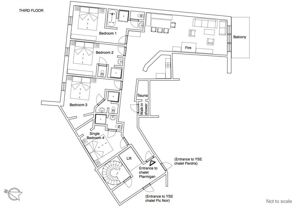 Ptarmigan floor plan