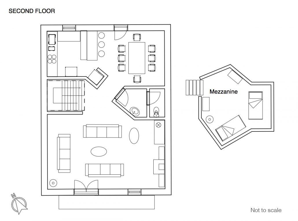 Vieux Cret floor plan 2F