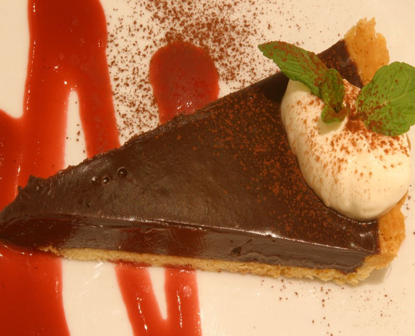 YSE chocolate tart