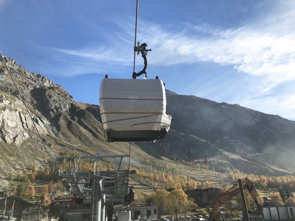 Val d'Isère, 19 October 2018