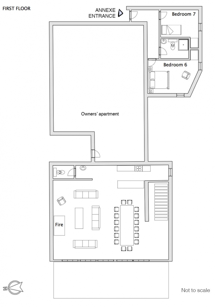 First floor - click to view